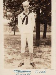 Donald Cobb served as a U.S. Navy radioman on the U.S.S.