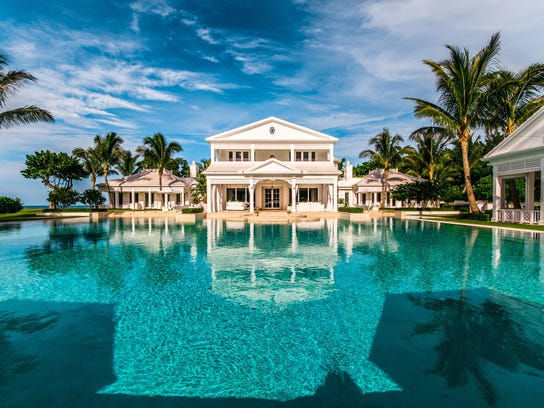 Mansions With Pools And Waterslides top 6 celebrity mansions: see who owns a $63m water park