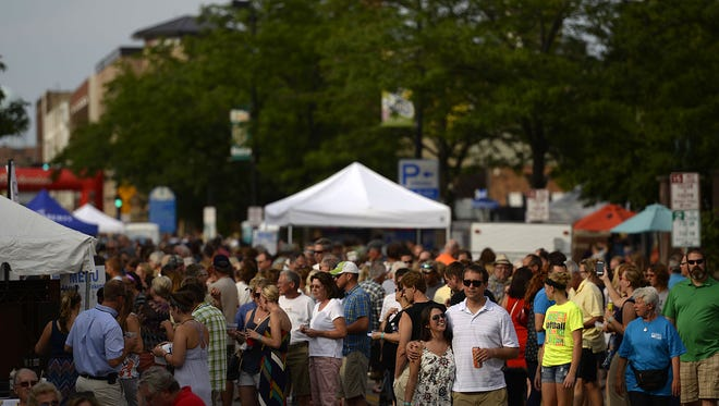 Among the summer events still to look forward to: Taste on Broadway in August.