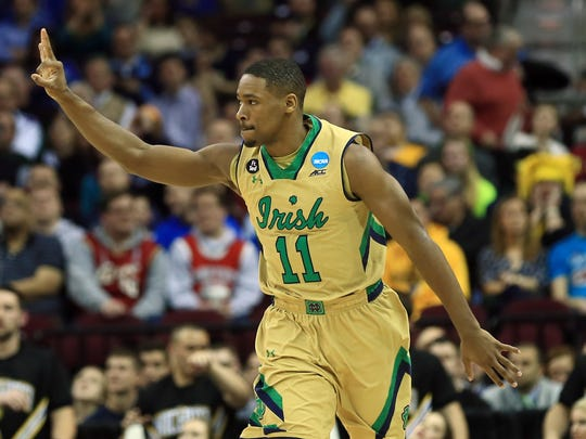 Notre Dame Fighting Irish guard Demetrius Jackson (11)