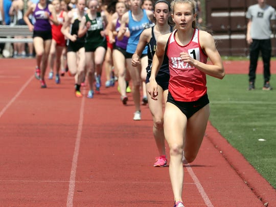 Katelyn Tuohy of North Rockland High School set the