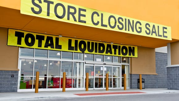 Big stores often sell their wares to a professional liquidator.