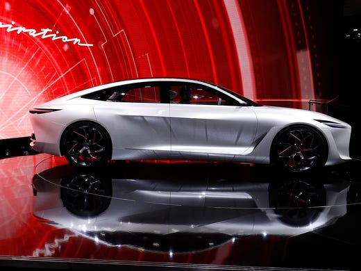 The New Infiniti Q Inspiration Concept Vehicle Makes