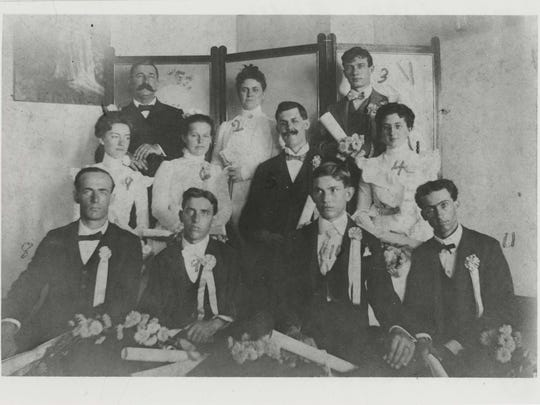 Eastern Indiana Normal University's first graduating