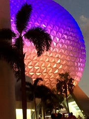Spaceship Earth at Epcot in Walt Disney World.