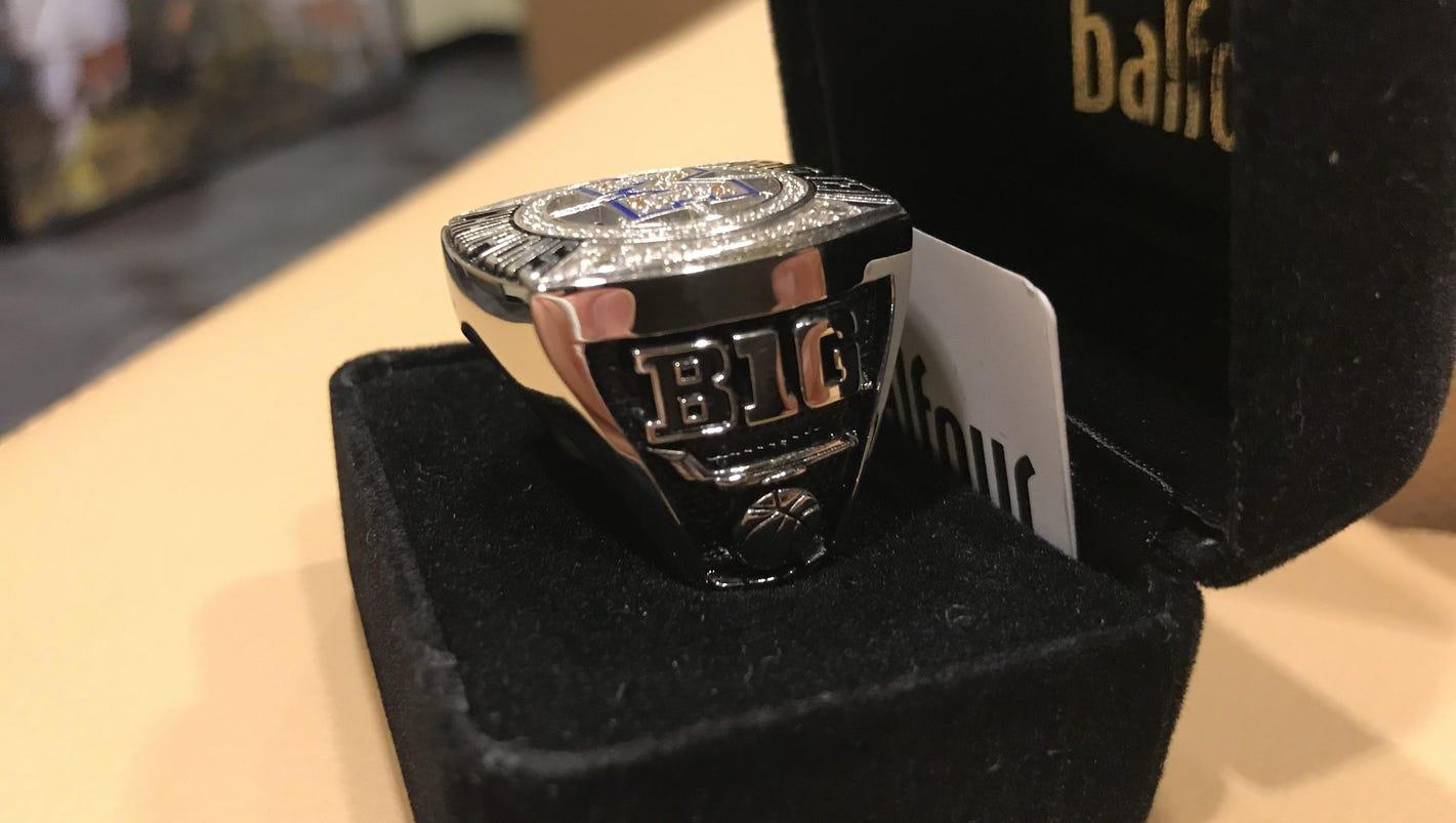 UM spends $8K on Big Ten rings; plane on the side