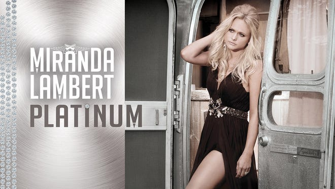 Miranda Lambert's new album 'Platinum' drops on Tuesday.