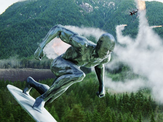 "The Silver Surfer was introduced ""Fantastic Four: Rise"