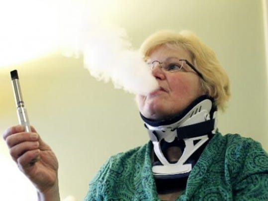 A study released last month showed more women are dying smoking-related deaths. Electronic cigarettes are one way smokers can wean themselves off of cigarettes. Photo by Chris Dunn.