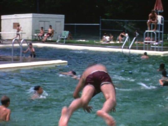 Suffern Memorial Pool, 1967.