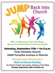 First Christian Church in Monroe is hosting evednts
