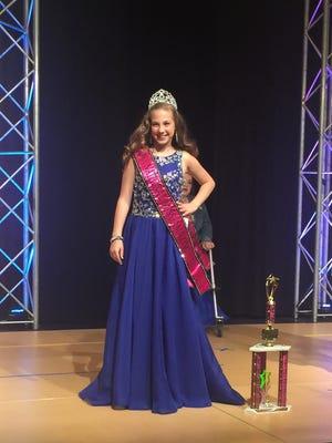 Rylee Howerton, 10, of Vineland is National Miss Amazing Preteen/
