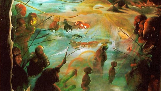 """""""Dream"""" by Edward Jean Baptiste."""