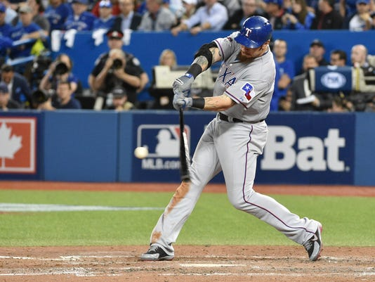 MLB: ALDS-Texas Rangers at Toronto Blue Jays
