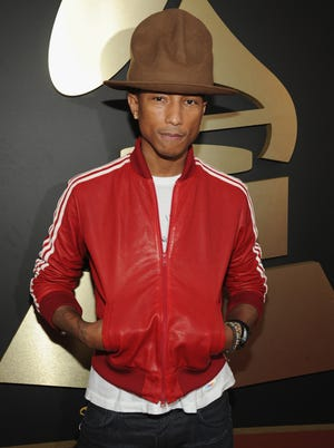 Pharrell Williams and his Grammy night crowning glory.