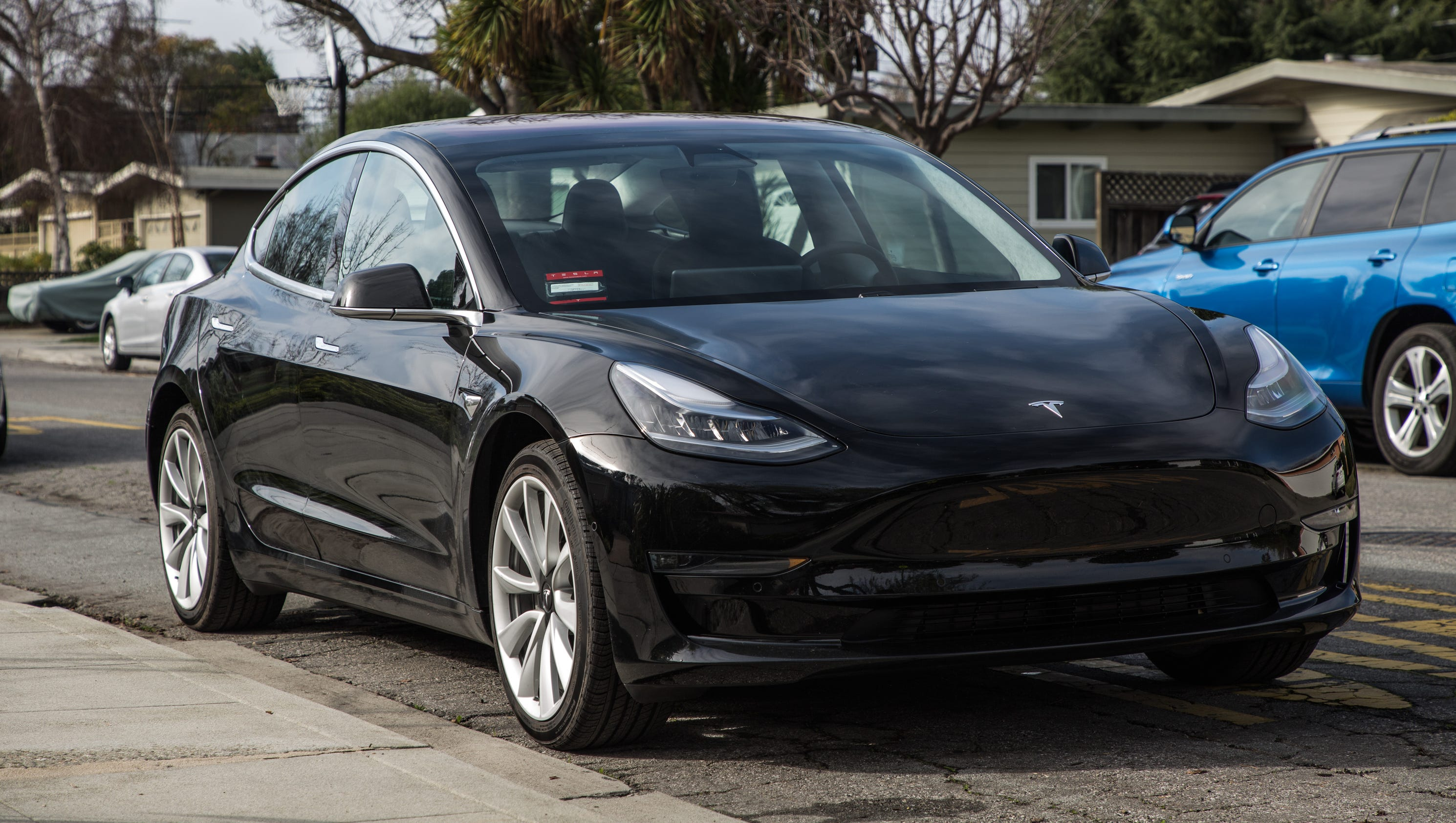 tesla model 3 review we rented one from a brand new owner it impressed. Black Bedroom Furniture Sets. Home Design Ideas