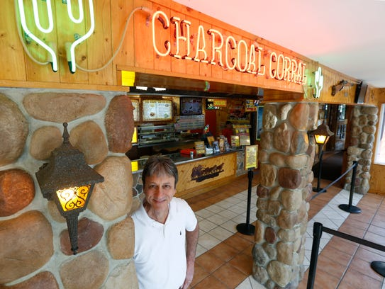 Rick Stefanon owns The Charcoal Corral and Silver Lake