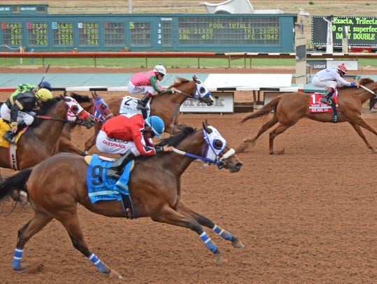 Jess Move You won last month's Ruidoso Derby at Ruidoso