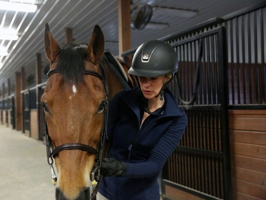 After nearly 10 years apart, rider Erin Heberger of Brighton has reunited with her horse Nemo, who she purchased in 2004, but was only able to keep for two years. Ten years, hundreds of miles and a couple different owners later, Nemo has found his way back to Heberger.