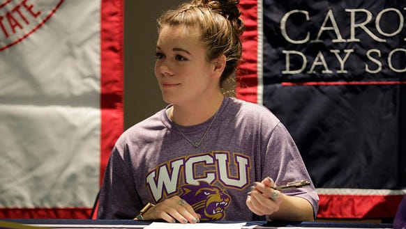 Carolina Day's Emily Crawford signed with WCU soccer
