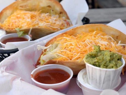 The bar sells as many as 250 of Kelly Kotarek's signature deep-fried tacos on Tuesdays.