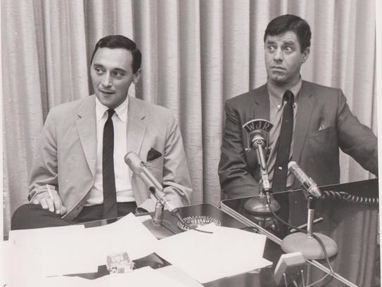 The early days: J.P. McCarthy and comedian Jerry Lewis