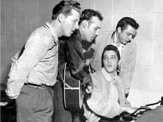 The original Million Dollar Quartet: Elvis Presley