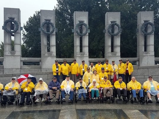 Mission 9 of the Honor Flight of Southern New Mexico