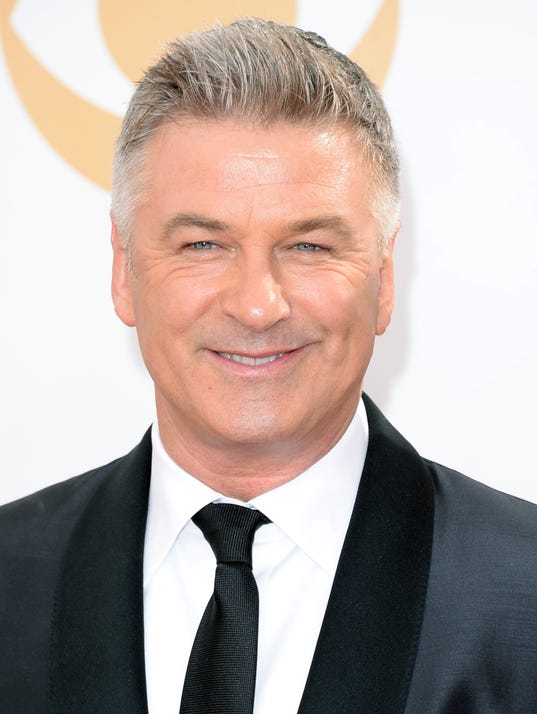 Alec Baldwin at the Emmys on Sept. 22. (Photo: Jason Merritt, Getty ...