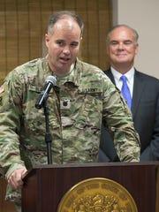 DEP Commissioner Bob Martin and Lt. Col. Michael Bliss