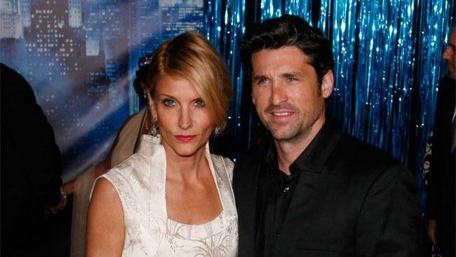 Patrick Dempsey and estranged wife Jillian Fink