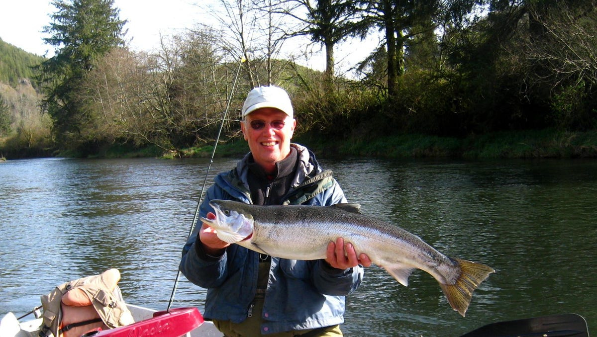 Oregon Rivers Map, Winter Steelhead Are Arriving In Oregon Rivers Heres Where To Catch Them, Oregon Rivers Map