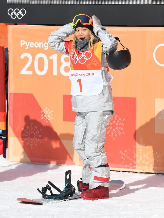 USP OLYMPICS: SNOWBOARD S OLY KOR