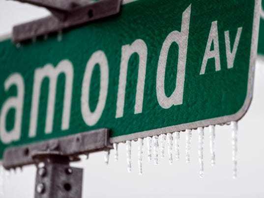 Icy Weather Sign 1