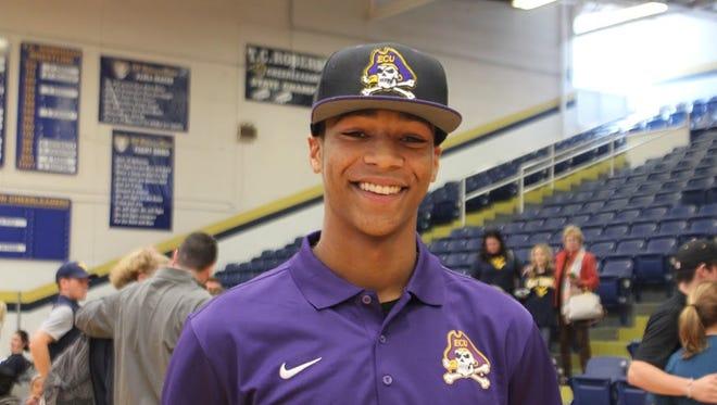 Roberson senior Collin Watt has signed to play college baseball for East Carolina.
