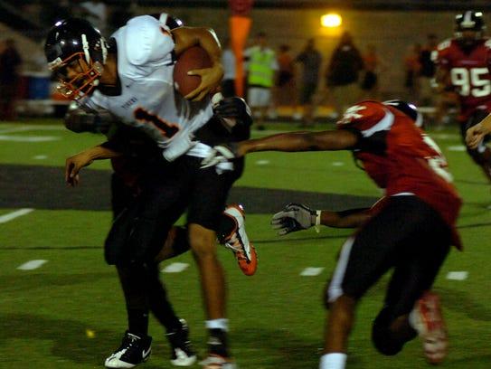 FOOTBALL -- Cocoa High School football player Matt