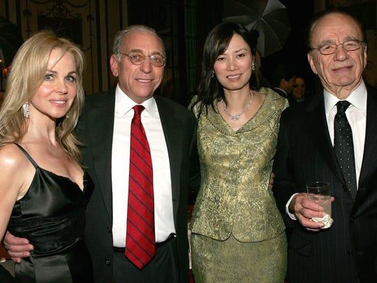 Simon Wiesenthal Center Honors Rupert Murdoch