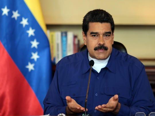Trump threatens Venezuela with 'military option'