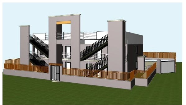 A rendering showing The Vibe at Marathon Village, which is planned for 2507 Clifton Ave.