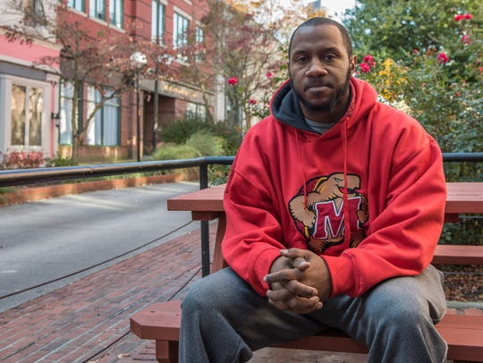 Community Activist, Jermichael Mitchell poses for a
