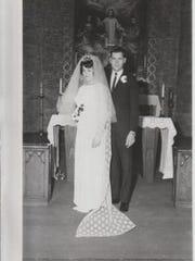 Gary and Diane Kropp, 1967.