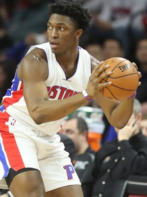 F Stanley Johnson. C-minus. The buzz: Much was expected of after a strong rookie campaign, but he has strangely regressed. Fell out of the rotation temporarily, and has watched the acquisition of Leuer squeeze his minutes.