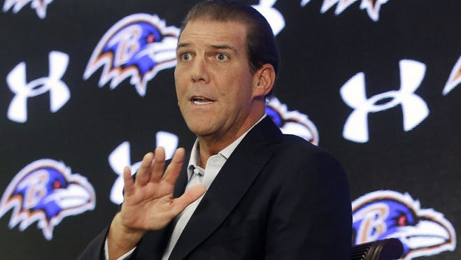 Baltimore Ravens owner Steve Bisciotti is considering signing quarterback Colin Kaepernick, but the team has yet to make the move.