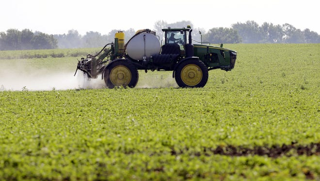 Ninety five pesticide drift complaints were filed against farmers and lawn care companies in Indiana last year.