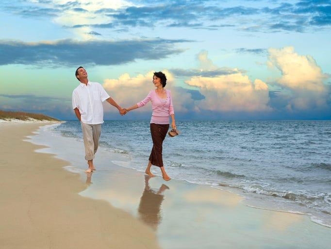 Amelia Island has 13 miles of beautiful beaches, abundant