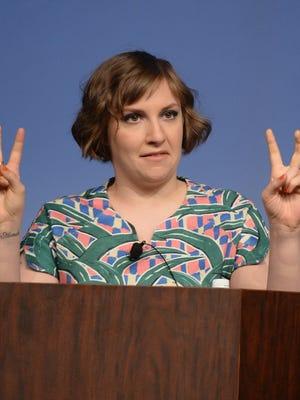 Filmmaker Lena Dunham speaks during the SXSW 2014 Film Keynote in Austin.
