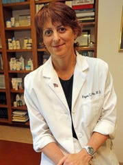 Dr. Fayne Frey, in her West Nyack dermatology office,