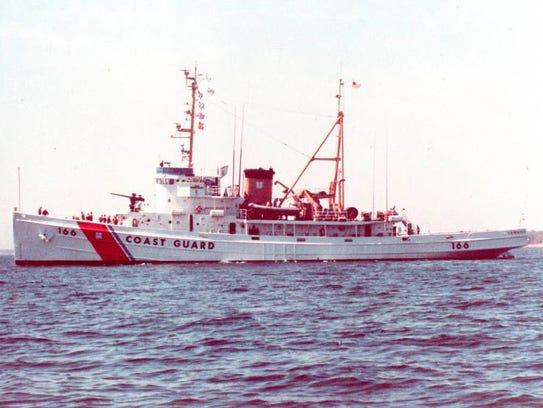 The Coast Guard's Tamaroa, known as the USS Zuni in