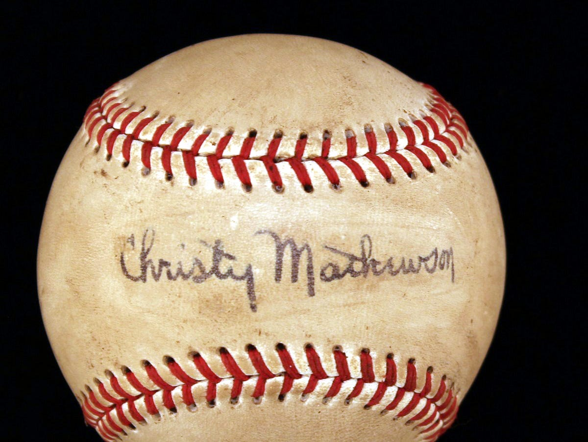 Baseball The Player Christy Mathewson and the American Century