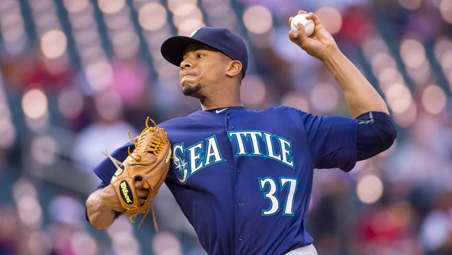 Mariners left-hander Ariel Miranda was 5-2 with a 3.54 ERA after being acquired from Baltimore last season, but failed to last six innings in six of his 10 starts.